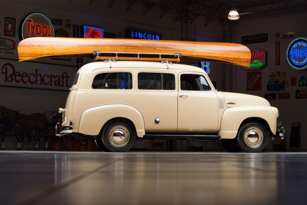 1953 Chevrolet 3100 Suburban (H-3116) suv stationwagon retro wallpaper