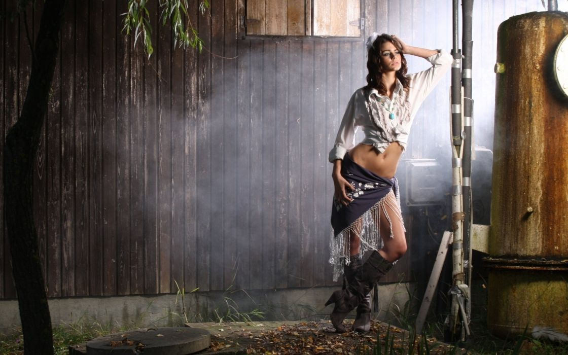 twilight model beauty girl backgrounb wallpaper