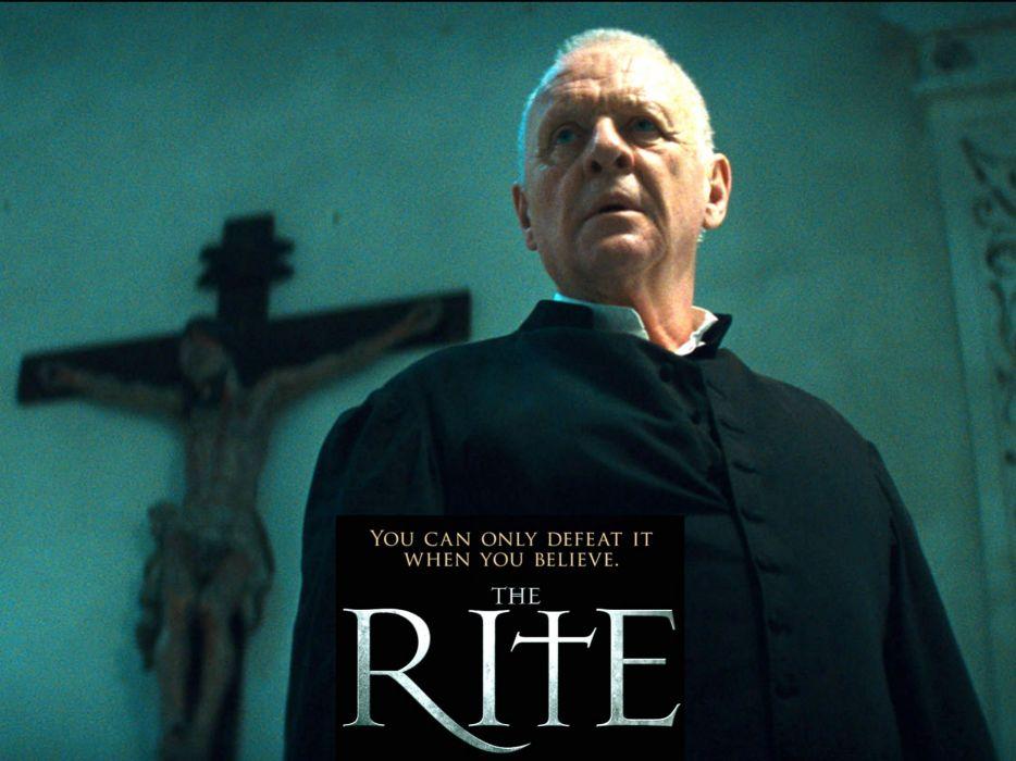 THE RITE drama horror thriller supernatural dark wallpaper