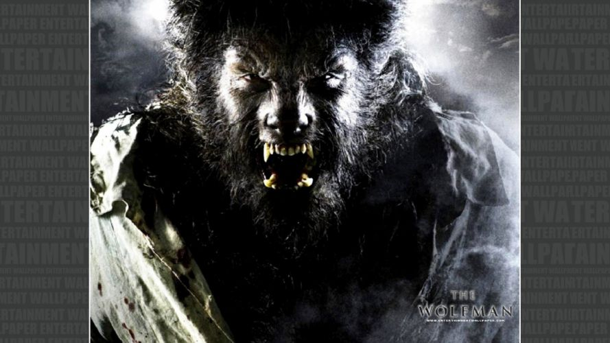 THE WOLFMAN drama horror thriller werewolf dark wallpaper
