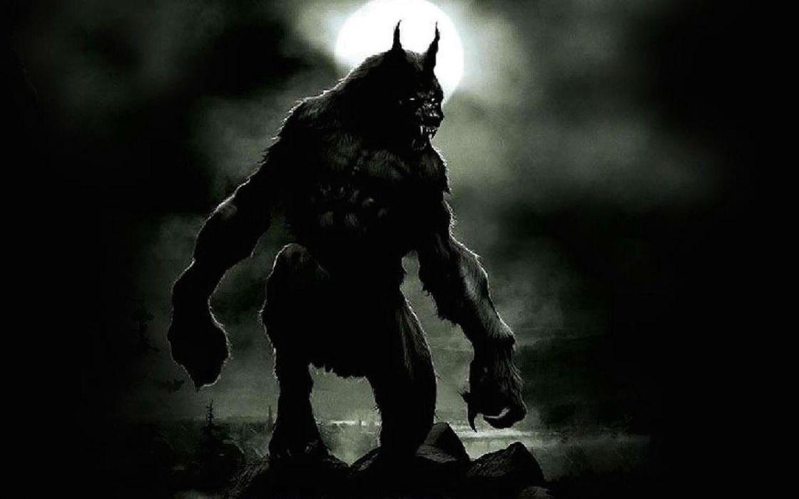 THE WOLFMAN drama horror thriller werewolf dark wallpaper