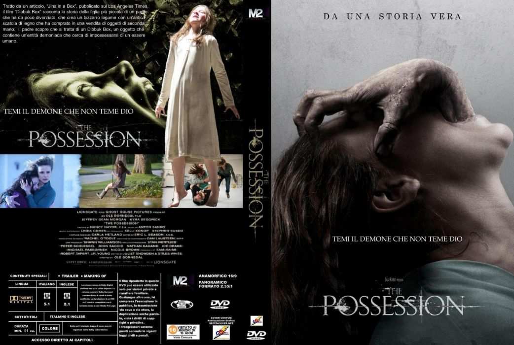 THE POSSESSION dark horror gothic thriller wallpaper