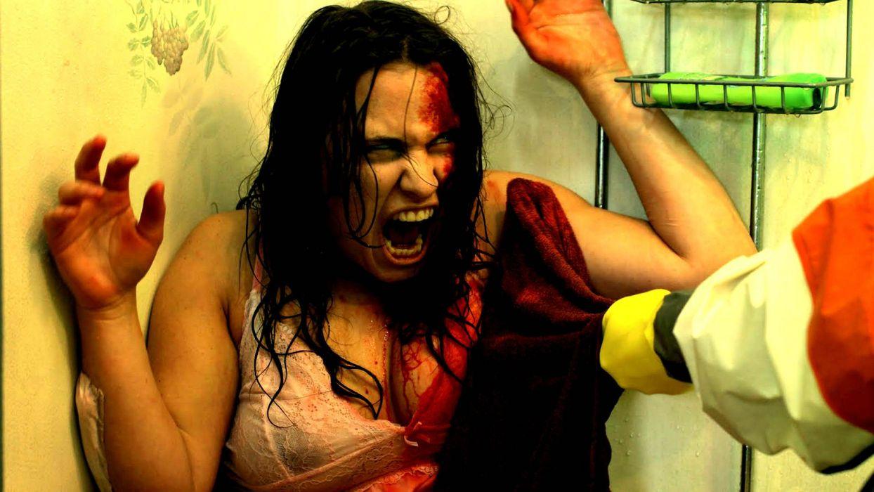 SINISTER VISIONS horror thriller mystery dark blood demon wallpaper
