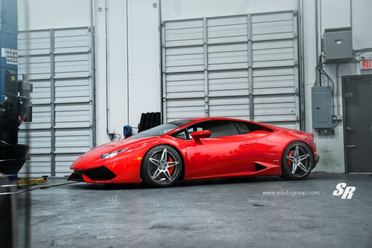 2014 PUR Lamborghini Huracan supercars wheels RED wallpaper