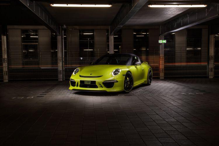 2014 Techart Porsche 911 Targa 4S supercars cars tuning germany wallpaper