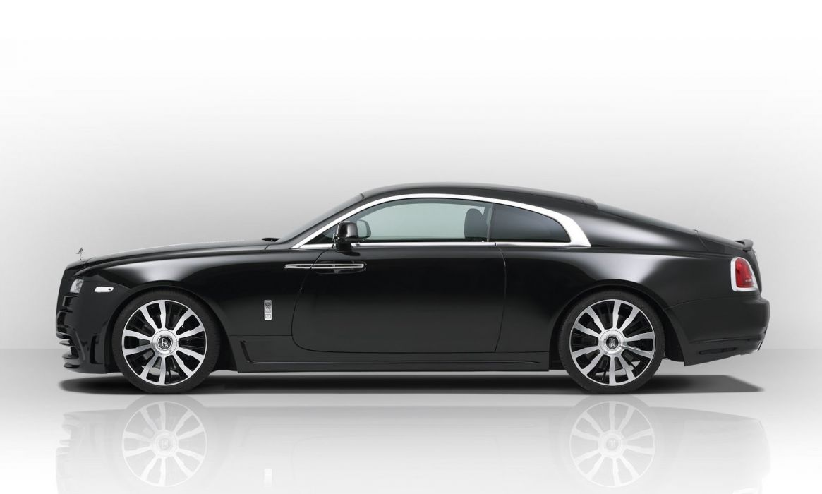 2014 novitec Spofec Rolls Royce Wraith Coupe supercars cars tuning black matt wallpaper
