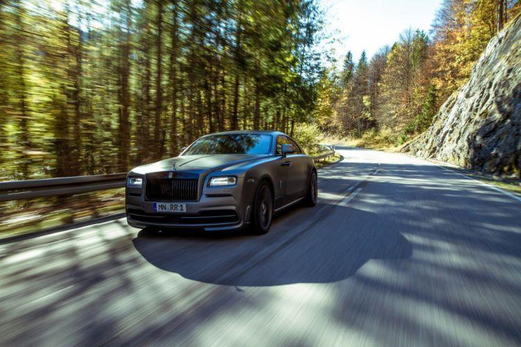 2014 novitec Spofec Rolls Royce Wraith Coupe supercars cars tuning black matt wallpaper