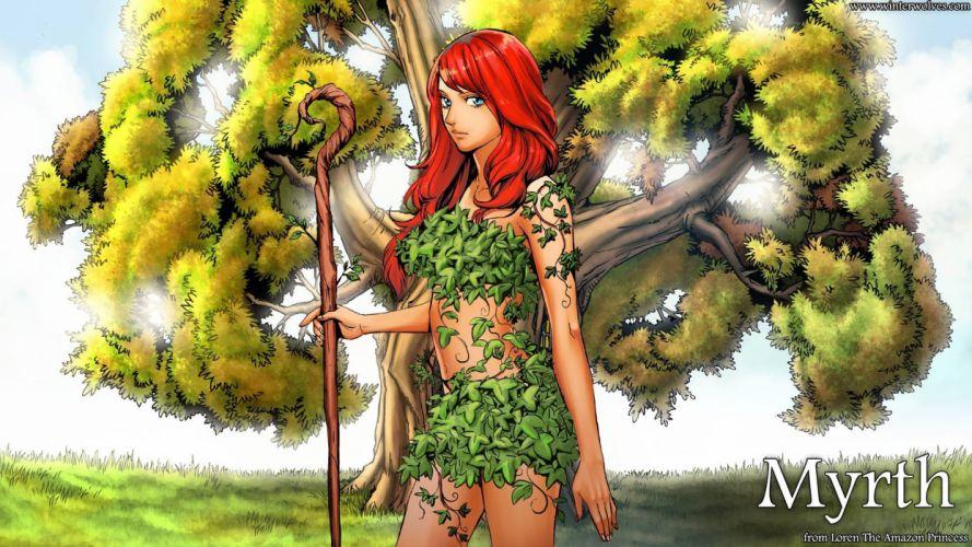 Loren the Amazon Princess Myrth video game android pc mac wallpaper