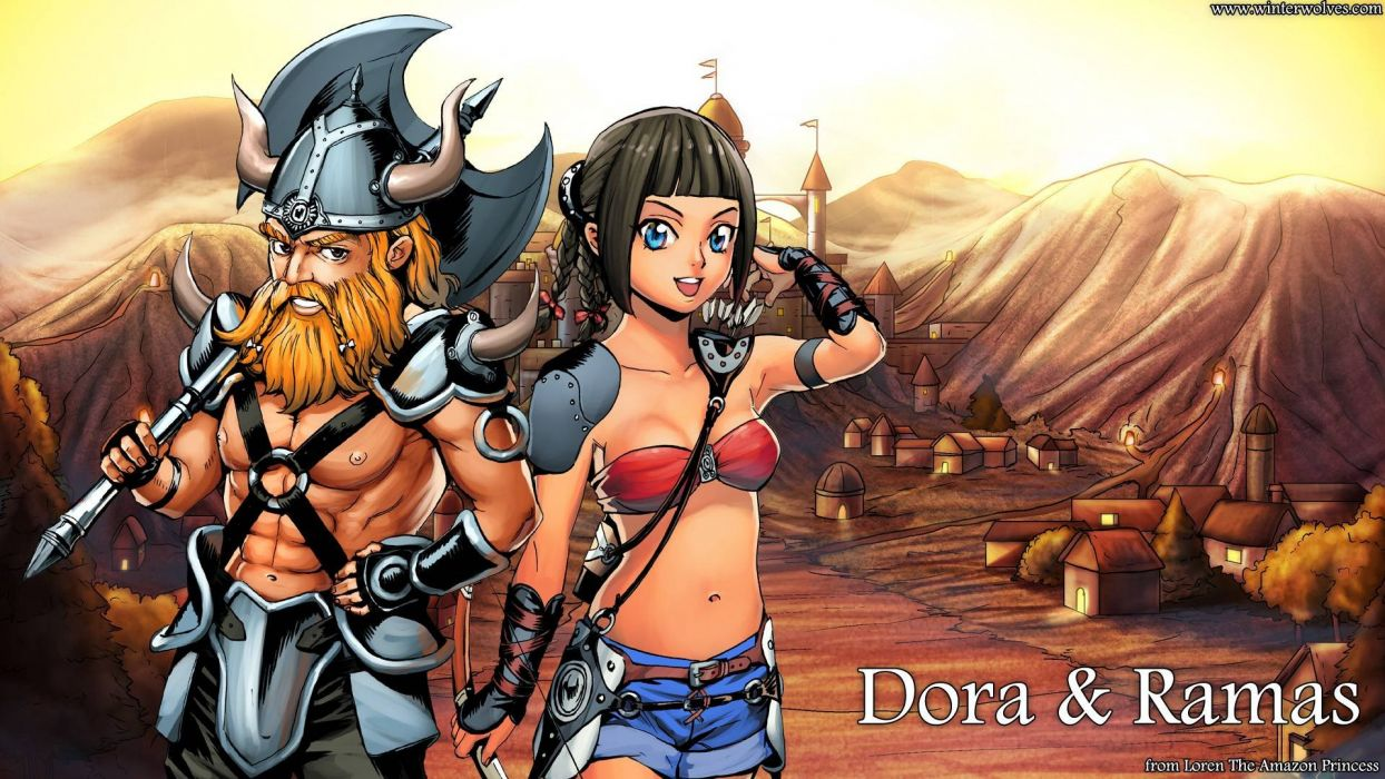 Loren the Amazon Princess Dora Ramas video game android pc mac wallpaper