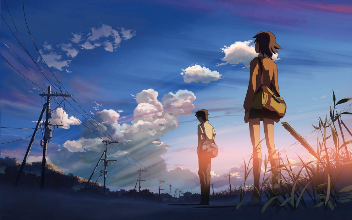 5 Centimeters Per Second anime tv show wallpaper