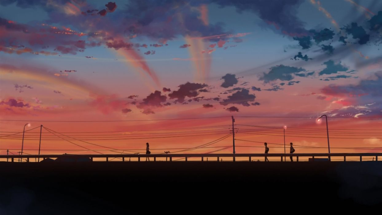 5 Centimeters Per Second anime tv show wallpaper