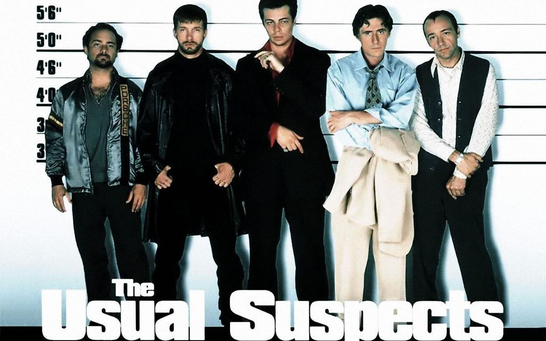 THE USUAL-SUSPECTS crime drama thriller mystery usual suspects wallpaper