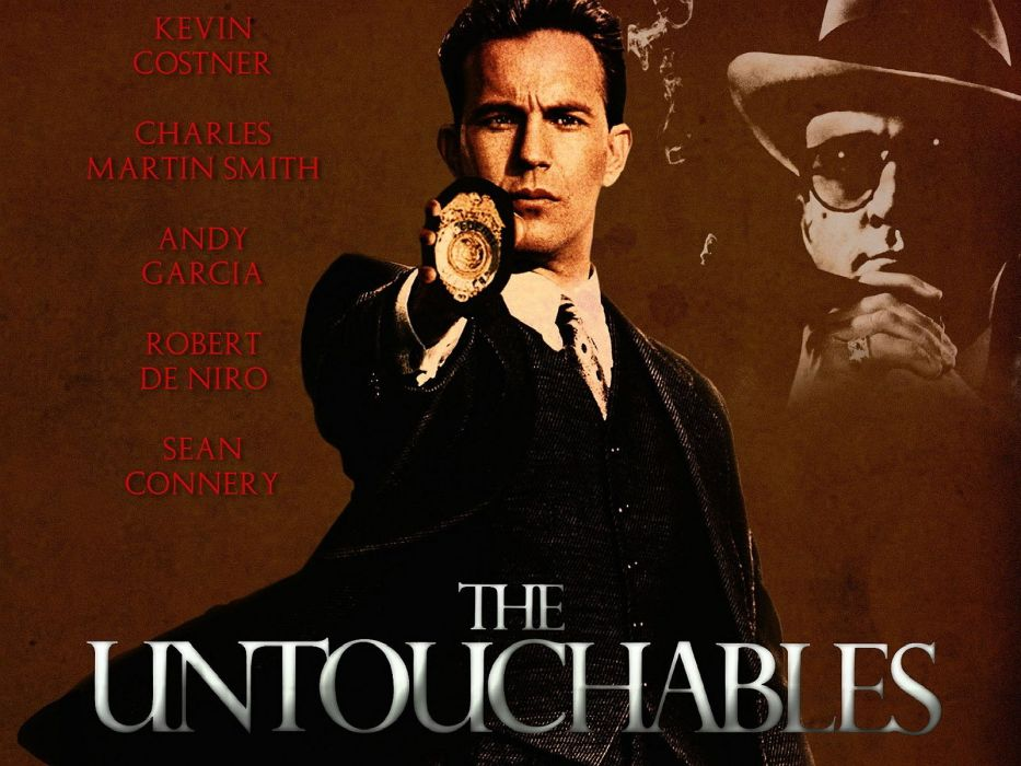 THE UNTOUCHABLES crime drama thriller mafia wallpaper