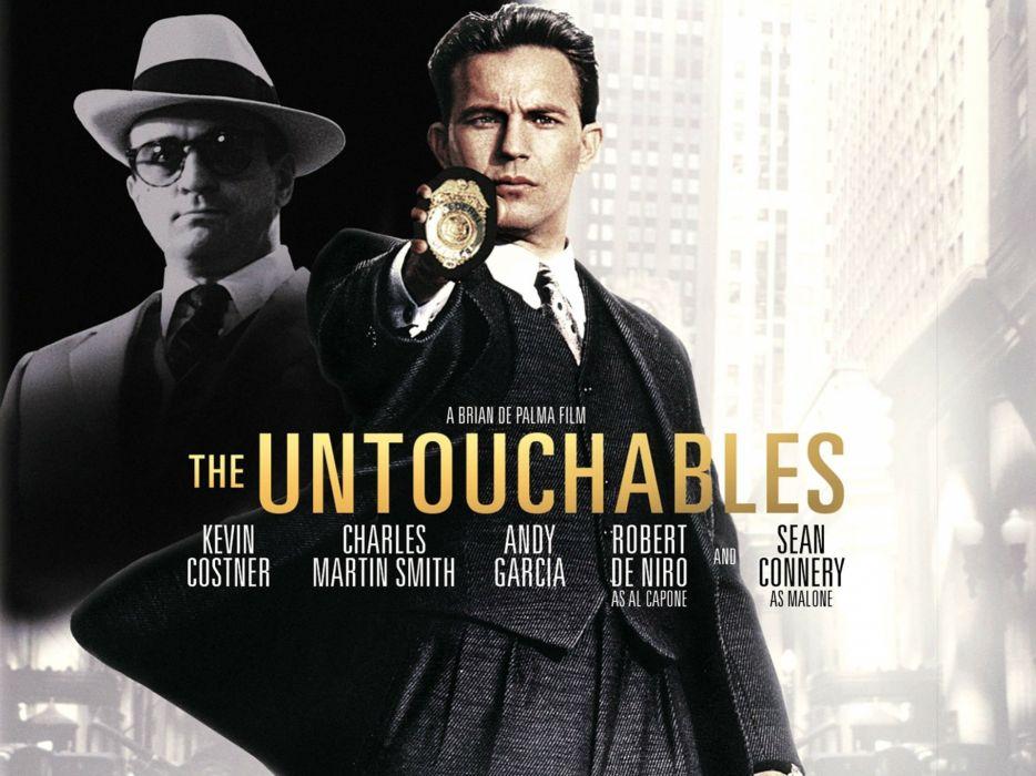 THE UNTOUCHABLES crime drama thriller mafia wallpaper