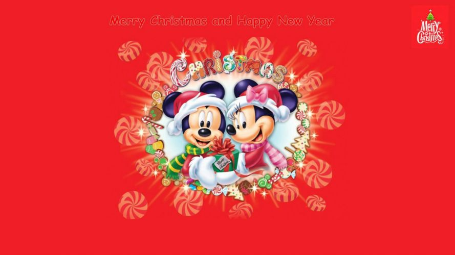 CHRISTMAS holiday disney mickey wallpaper
