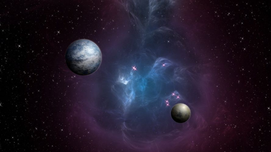 space universe galaxy cosmos astronomy planet star colors colorful sky nature planets stars galaxies wallpaper