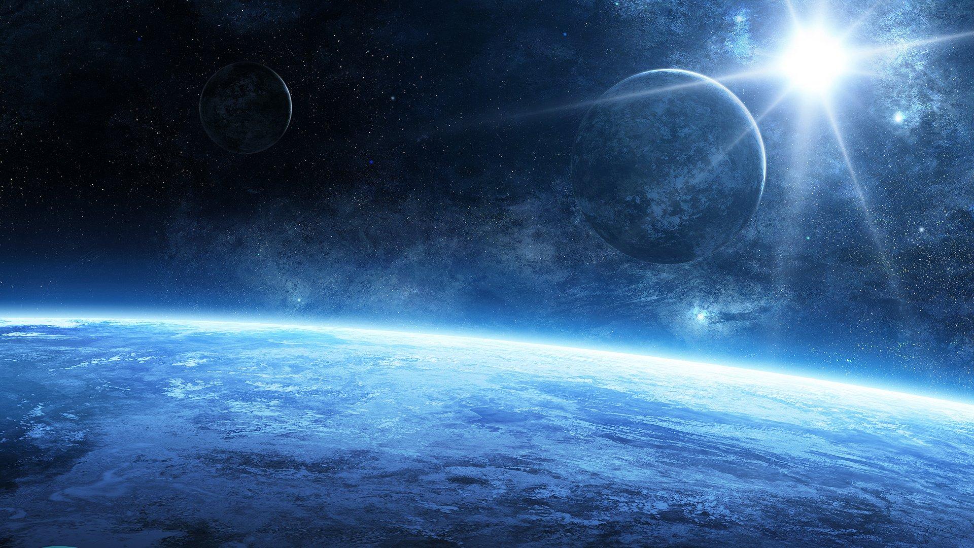 universe stars galaxies planets - photo #25