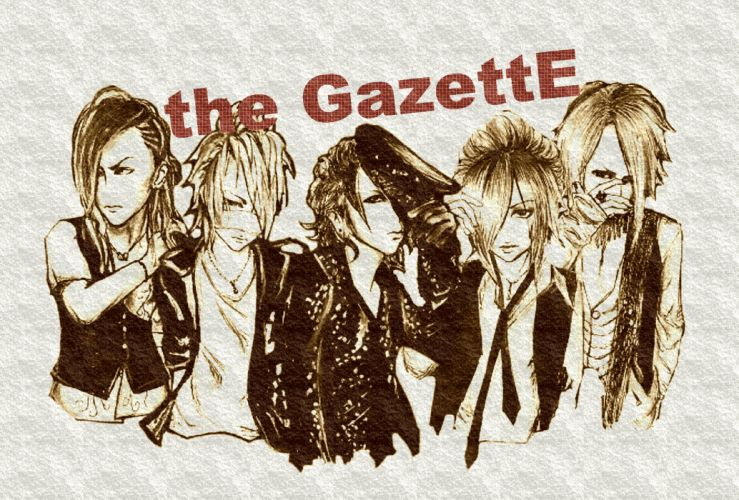 GAZETTE jrock alternative metal rock nu-metal metalcore visual progressive industrial wallpaper