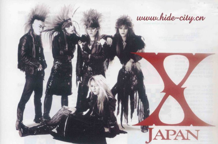 X-JAPAN jrock heavy metal symphonic japan wallpaper