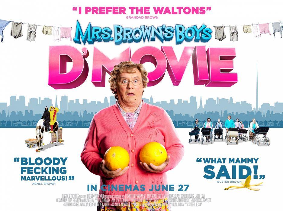 Mrs-BROWNS-BOYS series sitcom comedy bbc browns boys wallpaper