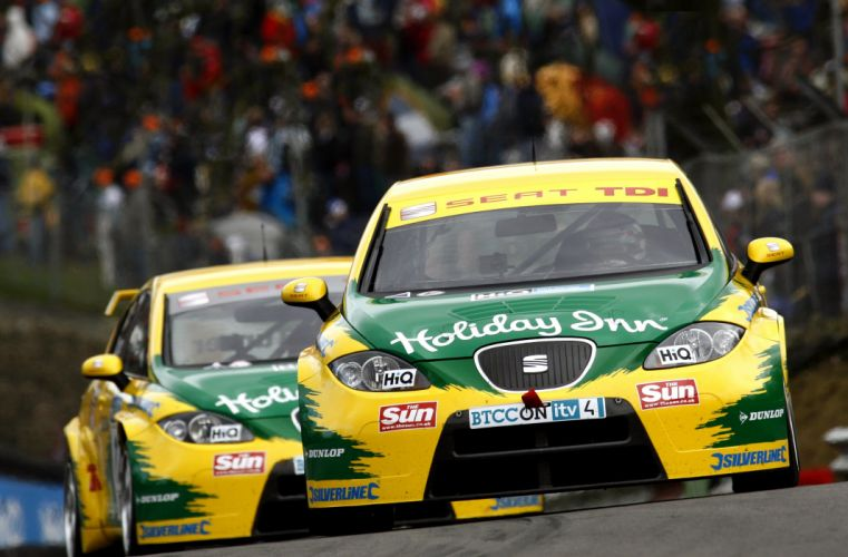 2008 Seat Leon TDI BTCC race racing wallpaper