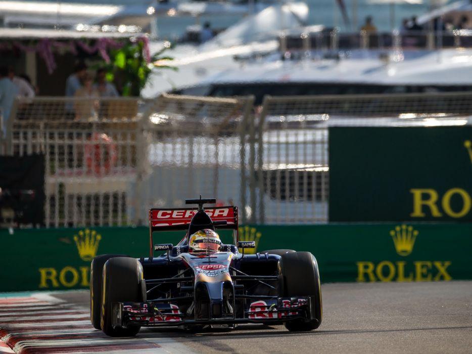 2014 Toro Rosso STR9 F-1 formula race racing wallpaper