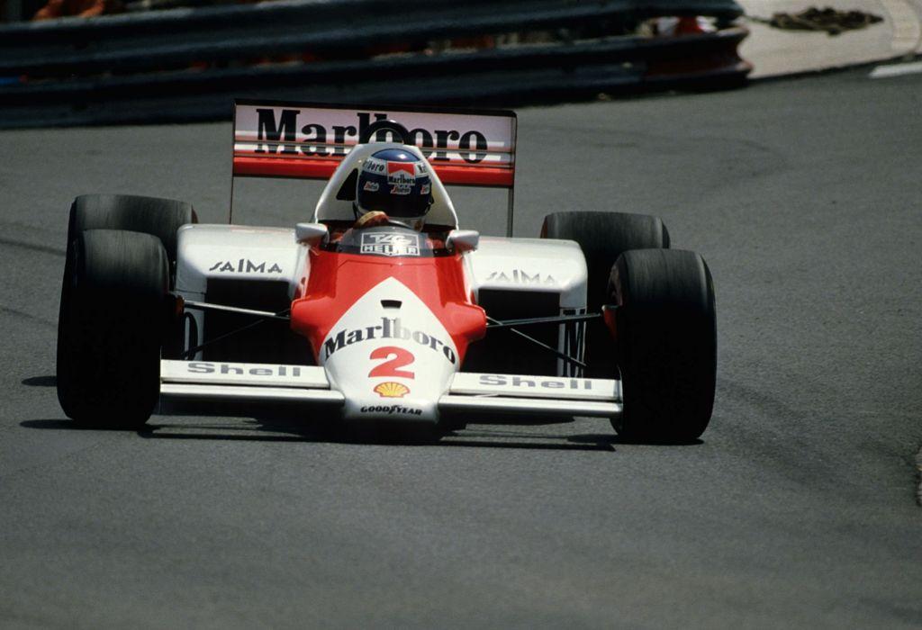 1986 McLaren MP4-2C F-1 formula race racing wallpaper