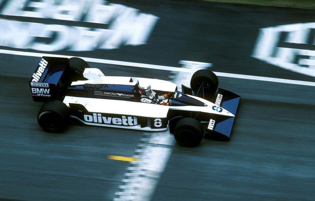 1986 Brabham BT55 F-1 formula race racing wallpaper