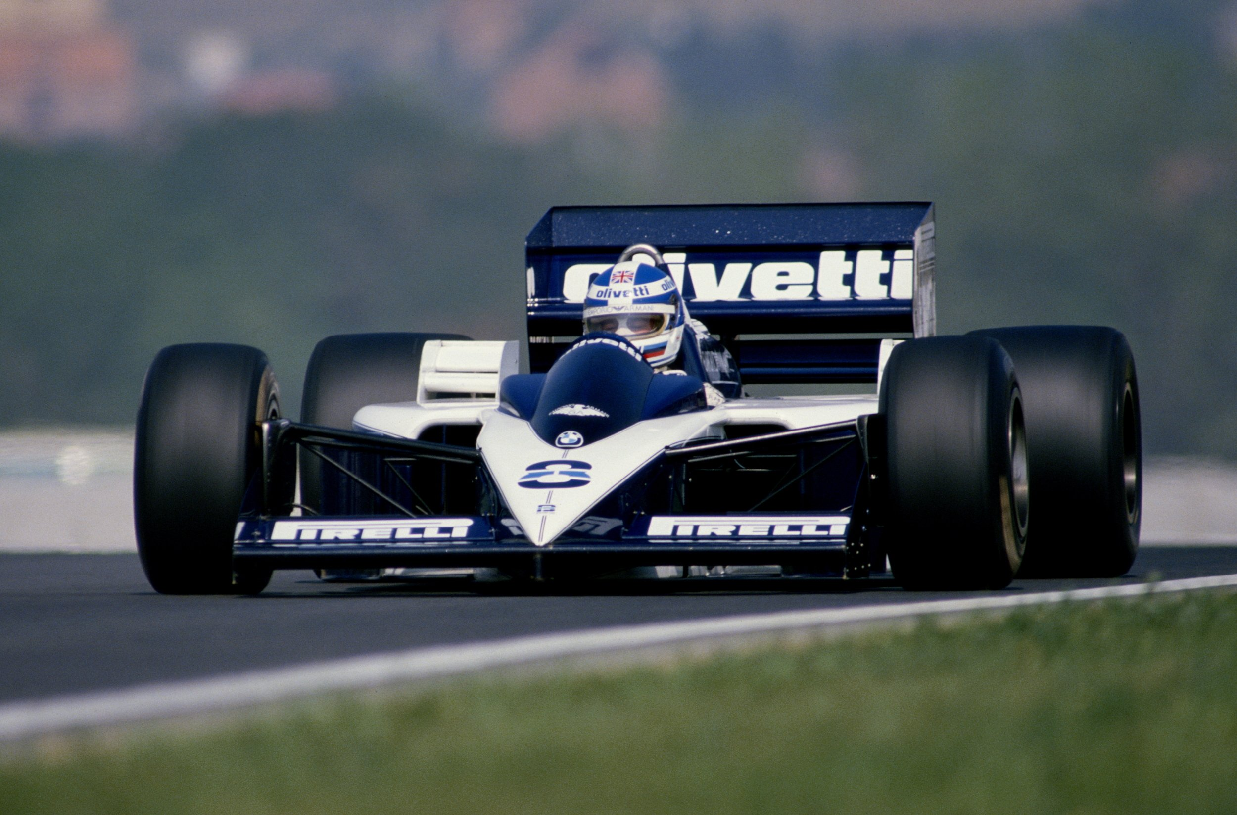 1986 Brabham Bt55 F 1 Formula Race Racing Wallpaper