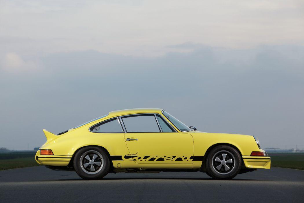 1972 Porsche 911 Carrera R-S 2-7 Sport classic wallpaper