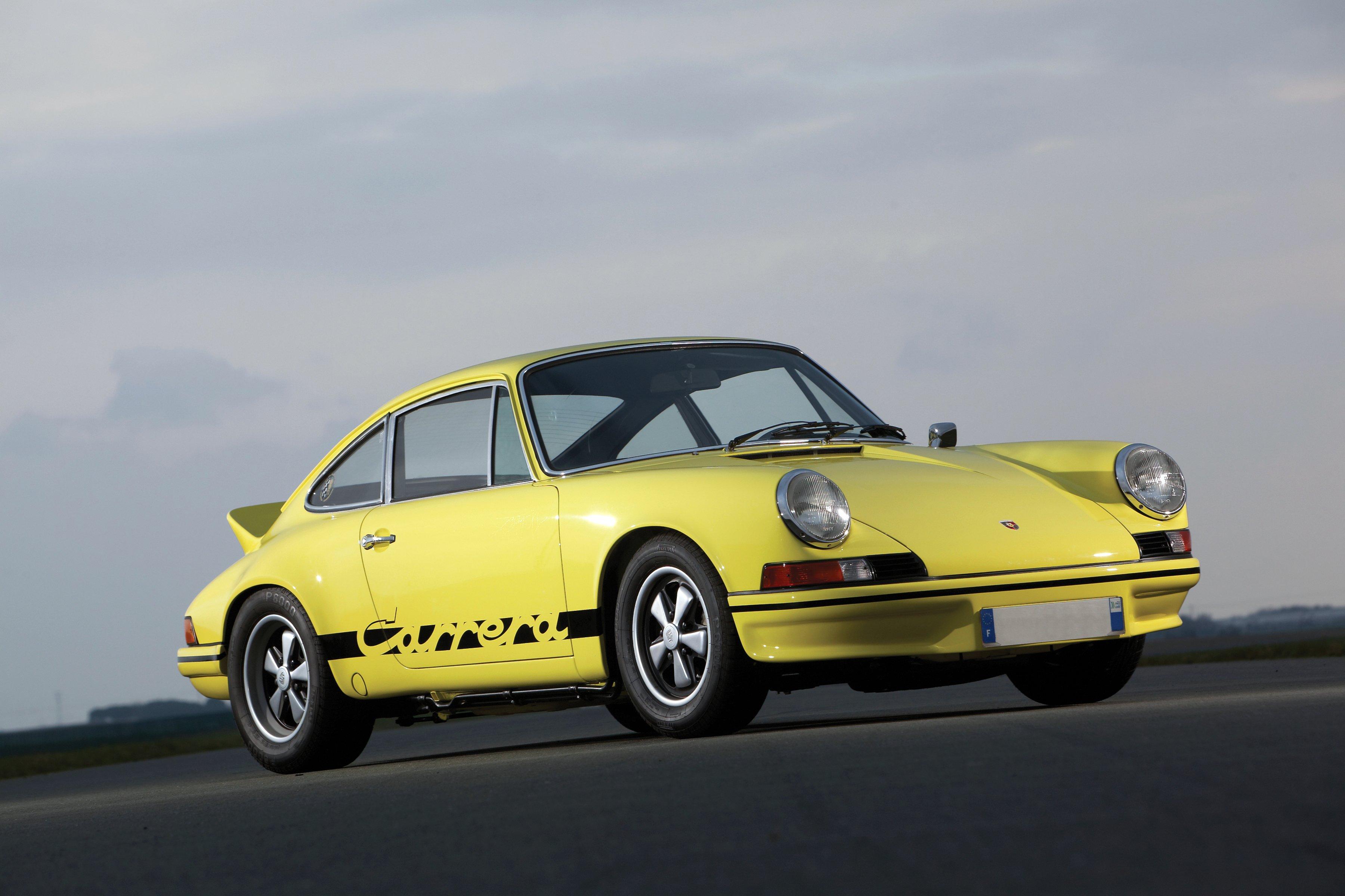 Porsche 911 Sport Classic Wallpaper: 1972 Porsche 911 Carrera R-S 2-7 Sport Classic Wallpaper