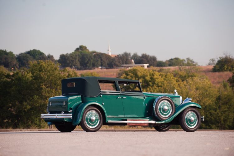 1931 Minerva 8AL Convertible Sedan Rollston luxury retro wallpaper