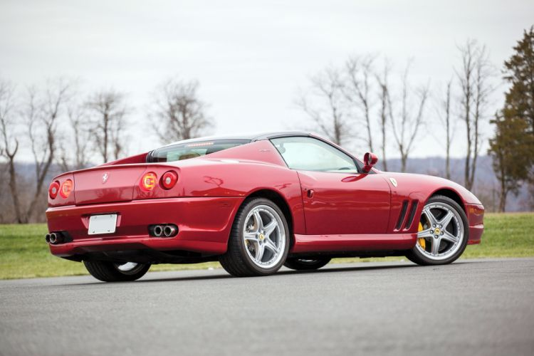 2005 Ferrari Superamerica US-spec supercar wallpaper