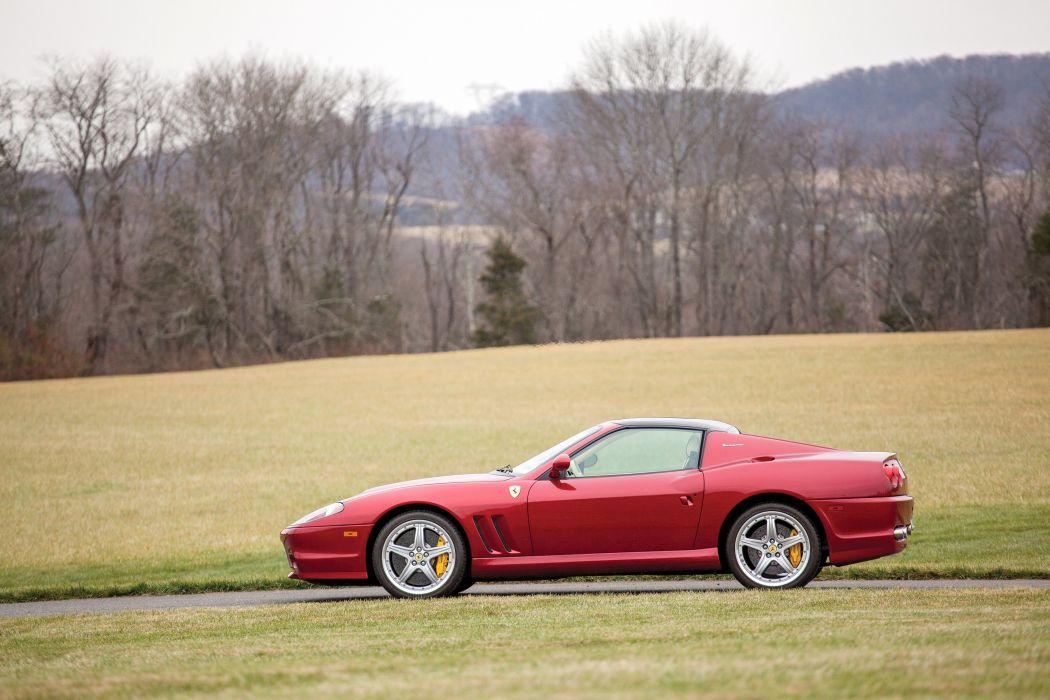 2005 Ferrari Superamerica US-spec supercar wallpaper