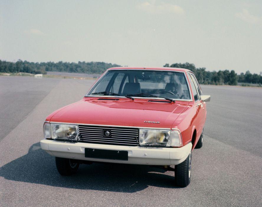 1975 Simca 1308 G-T classic wallpaper
