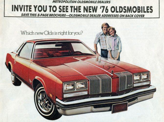 1976 Oldsmobile Cutlass Supreme wallpaper