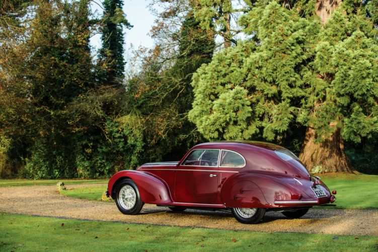 1939 Alfa Romeo 6-C 2500 S Berlinetta luxury retro wallpaper