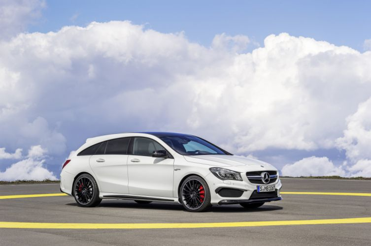 2015 Mercedes Benz AMG CLA45 Shooting Brake (X117) stationwagon wallpaper