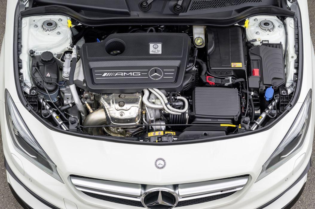 2015 Mercedes Benz AMG CLA45 Shooting Brake (X117) stationwagon wallpaper