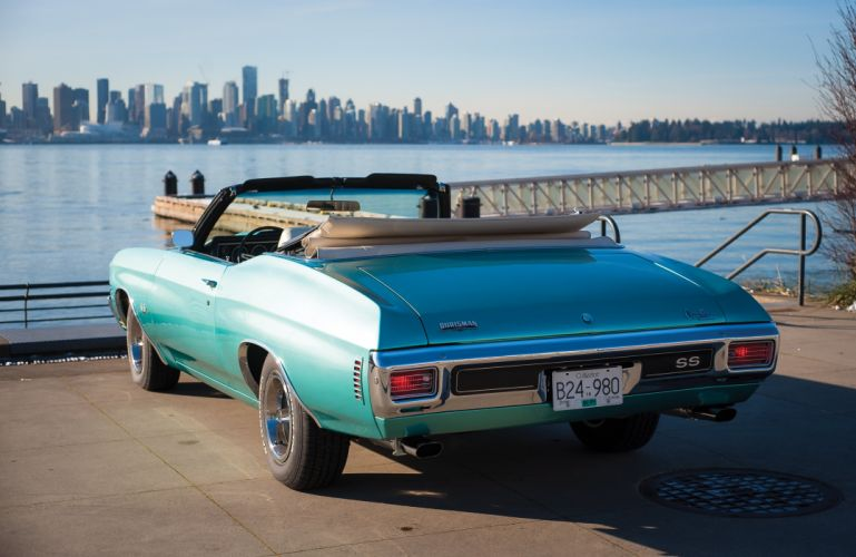 1970 Chevrolet Chevelle S-S 454 LS6 Convertible muscle classic wallpaper