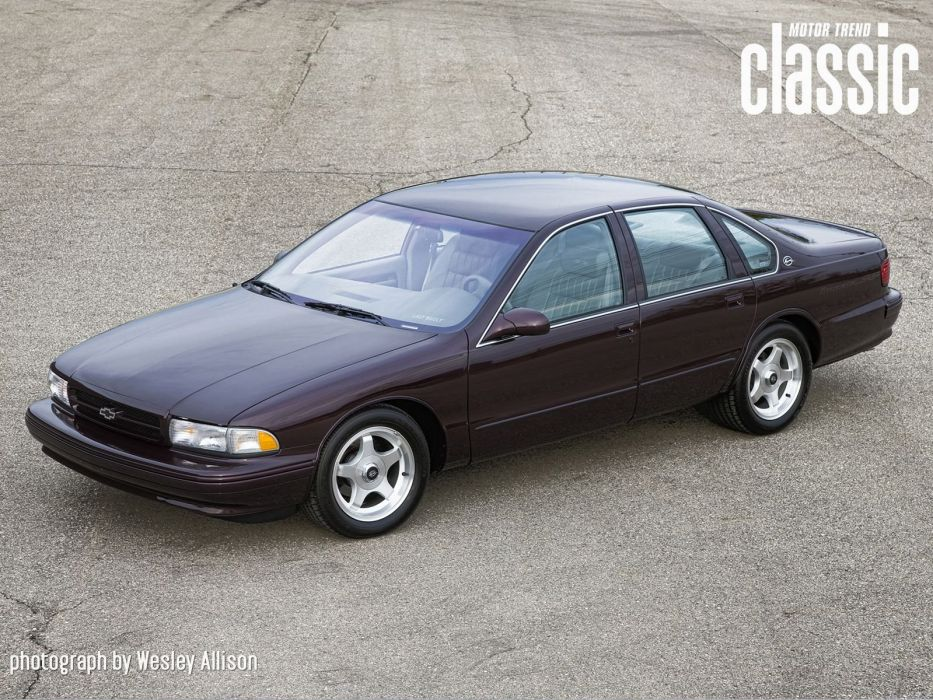 1996 Chevrolet Impala S-S muscle wallpaper