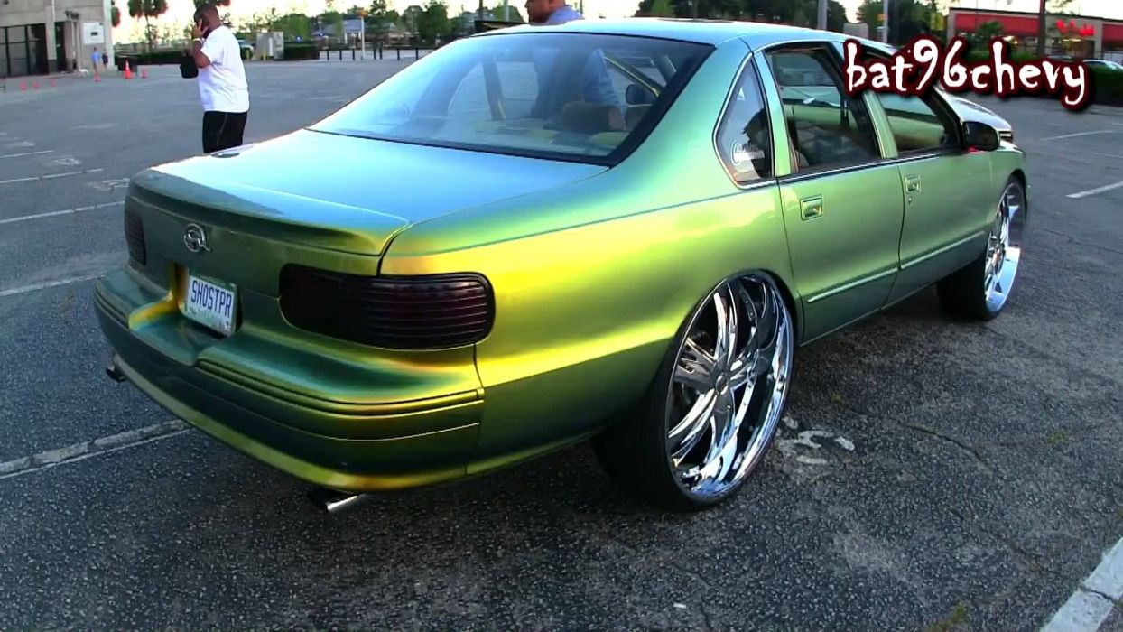 1996 Chevrolet Impala S-S muscle lowrider custom hot rod rods wallpaper