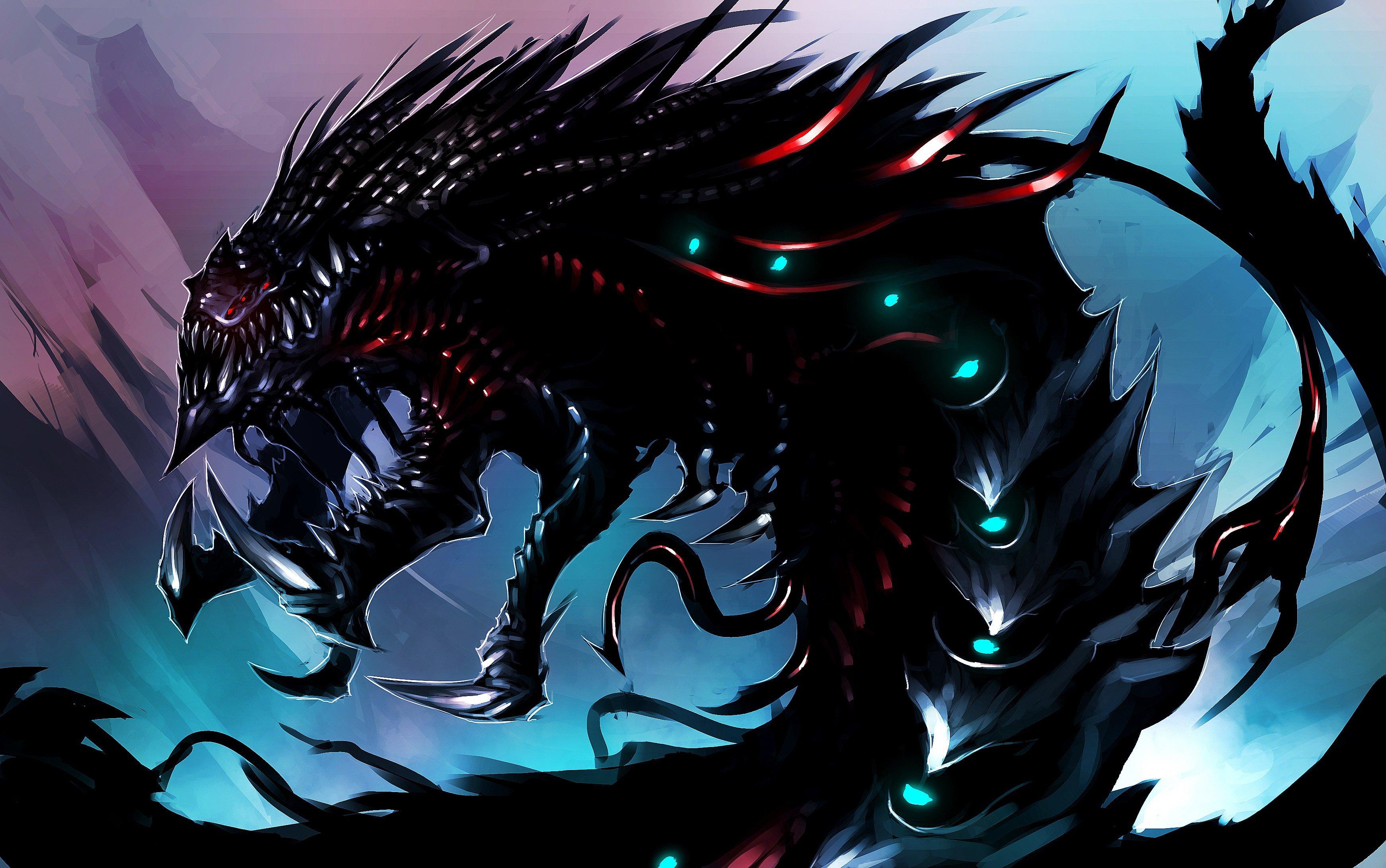 Monster Fantasy Serpent Creature Art Artwork Psychedelic