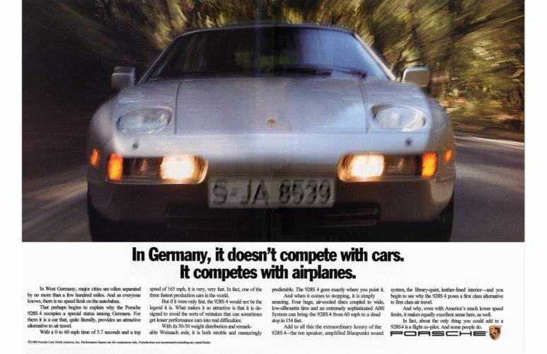 Porsche 928 supercar wallpaper