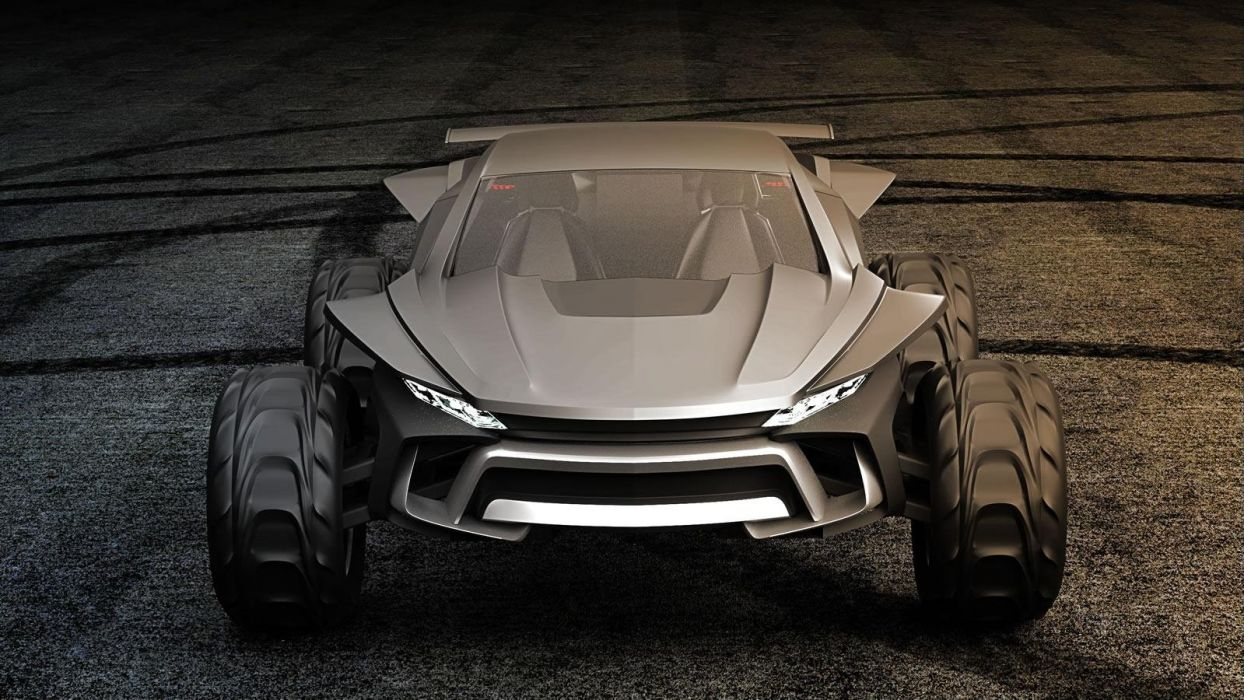 Gray Design Sidewinder suv concept wallpaper