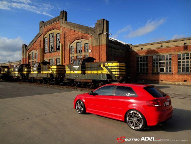 ADV1 wheels audi s3 tuning cars wallpaper