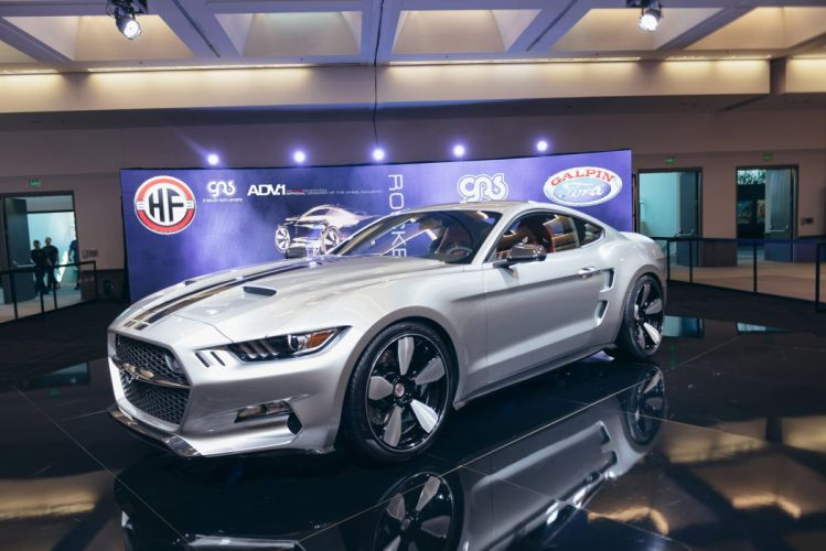 ADV1 wheels FORD MUSTANG GALPIN FISKER ROCKET tuning cars wallpaper
