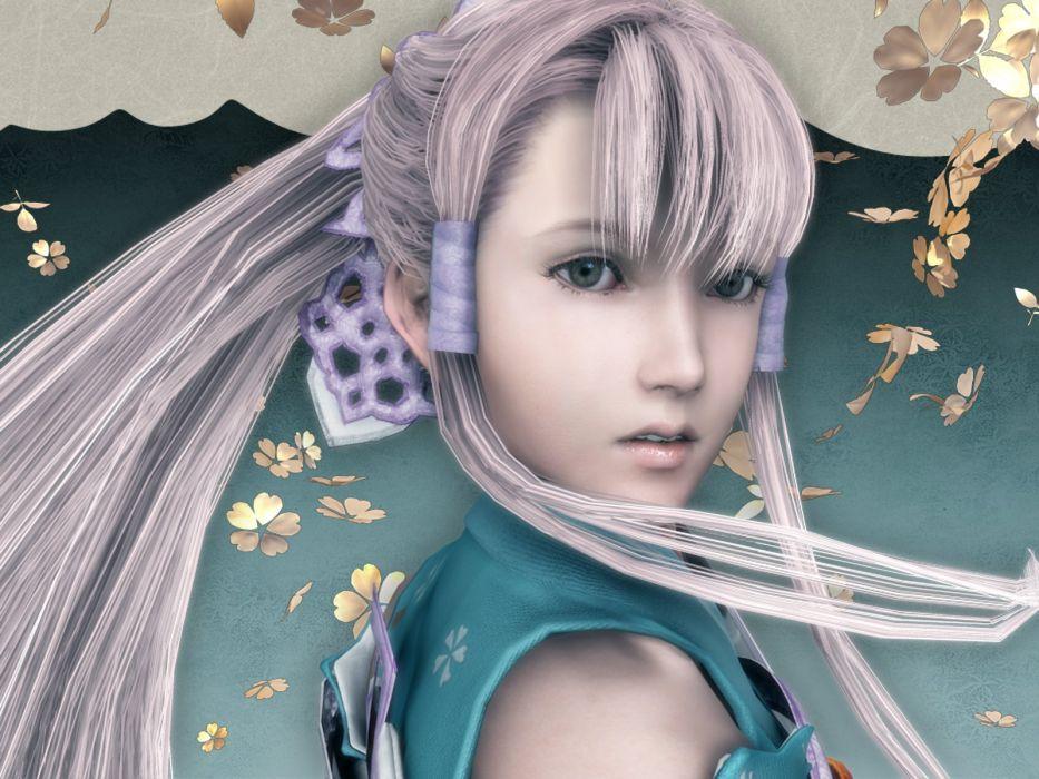 GENJI action adventure fighting fantasy samurai warrior wallpaper