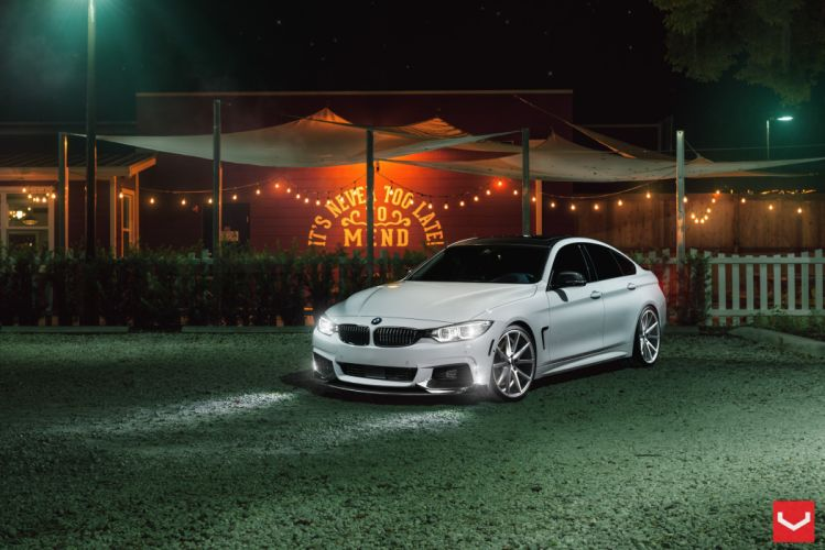 vossen wheels BMW 4 Series tuning cars wallpaper