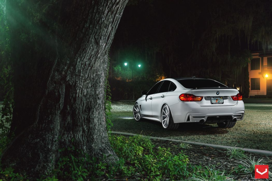 vossen wheels BMW 4 Series tuning cars wallpaper